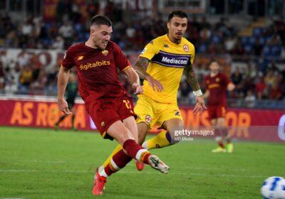 Veretout contro Fiorentina